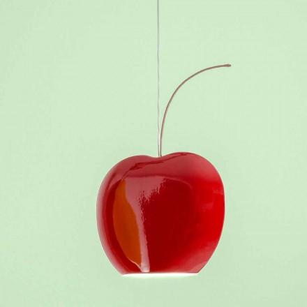 Závěsná keramická lampa v Cherry - Ovoce Aldo Bernardi