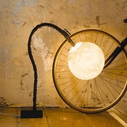 Flexibilní stojací lampa In-es.artdesign Micro Luna nebulit