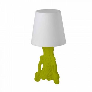 Barevné stolní lampy Slide Lady of Love moderní design vyrobený v Itálii