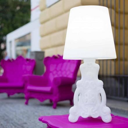 Slide Lady of Love stolní lampa s jasným designem vyrobeným v Itálii