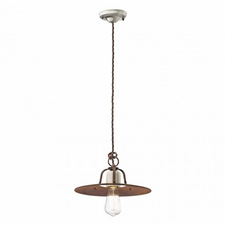 Průmyslový styl závěsná lampa Ferroluce