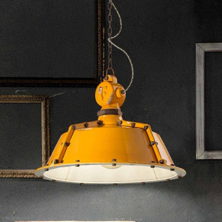 Průmyslová stylu lustr ročník bell Jillian Ferroluce