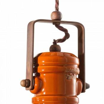 Lustr designu vintage ruční keramiku Cameron Ferroluce