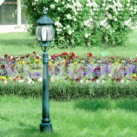 Zahradní sloupek s hliníkovým odlitkem vyrobený v Itálii, Anika