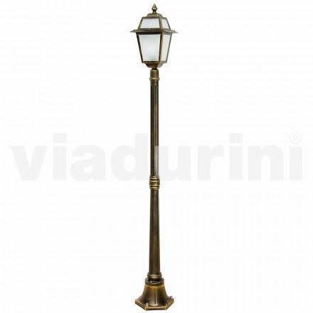 Klasická venkovní lampa vyrobená z hliníku, vyrobená v Itálii, Kristel