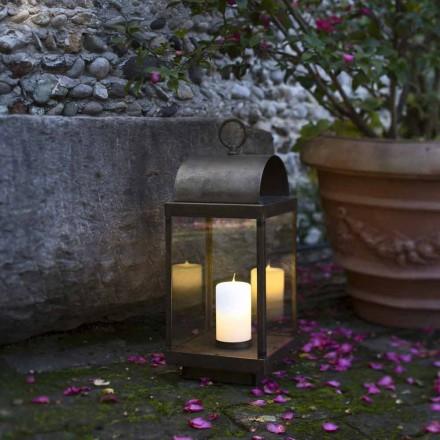 Garden Lantern s železa nebo mosazi svíčka Il Fanale