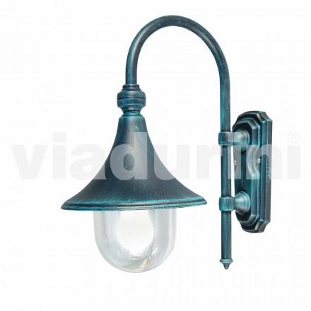 Hliníková svítilna tlakově litá do zahrady / stěny vyrobená v Itálii, Anusca