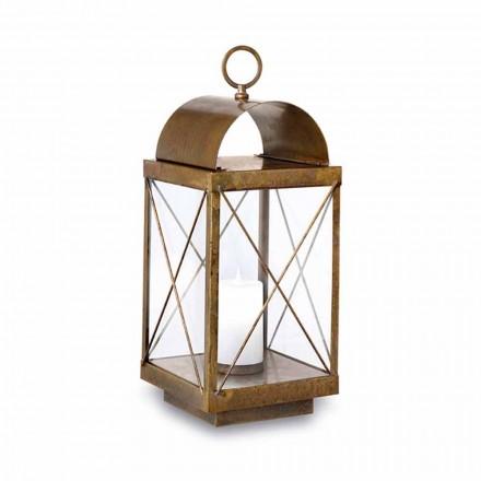 Great Outdoor Lantern ze Země se svíčkou Il Fanale