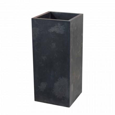 Umyvadlo v černé barvě přírodního kamene sloupci Balík