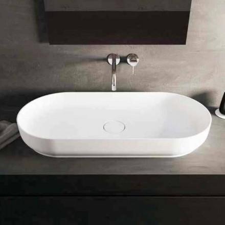 Moderní design umyvadlo na desku Dalmine Maxi, vyrobené v Itálii