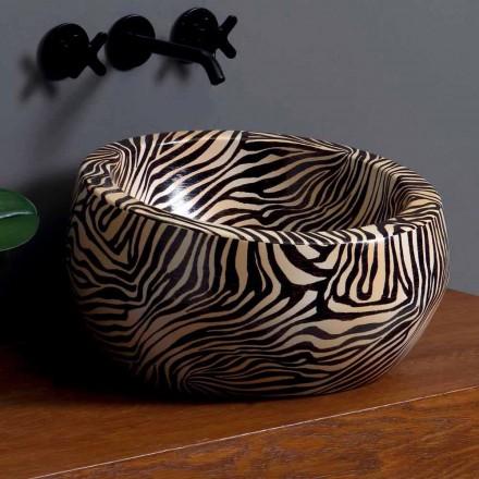 Moderní keramické umyvadlo vyrobené v Itálii Elisa