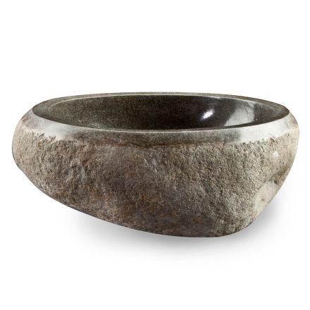 Umyvadlo na desku Artisan v přírodním kameni Modern River - Aurea