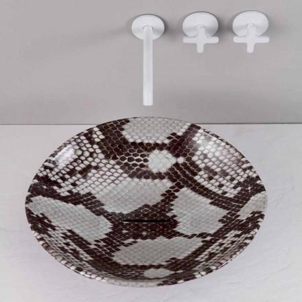 Pantofle z keramického designu vyrobené v Itálii Zvířata