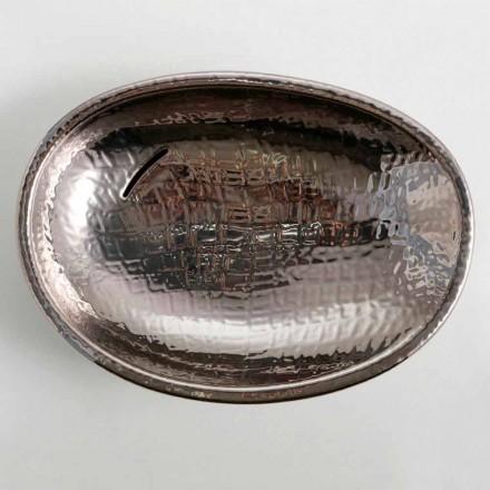 Design keramické umyvadlo stříbro vyrobené v Itálii Lesklý