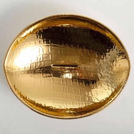 Deska desky keramické umyvadlo zlato vyrobené v Itálii Zvířata