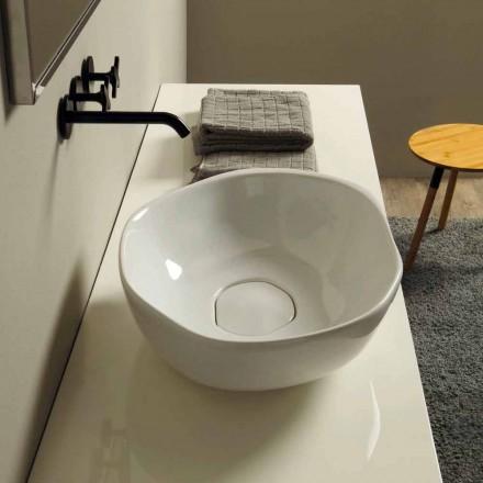 Návrh keramické umývadlo na desku vyrobené v Itálii Stem