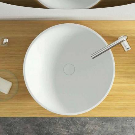 Moderní design kruhové umyvadlo na desku vyrobené v Itálii, Donnas