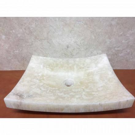 Onyx umyvadlo z přírodního kamene Láska, jedinečný kus