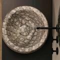Caiman keramické kulaté umyvadlo vyrobené v Itálii design Elisa