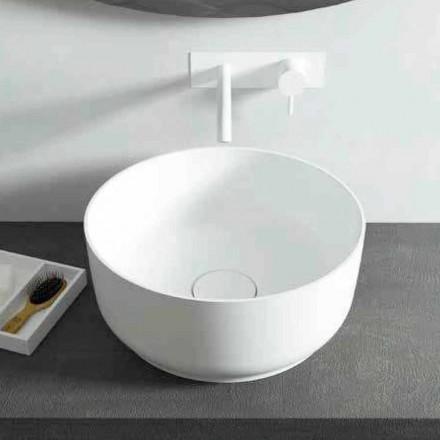 Moderní design umyvadlo na pracovní desce, vyrobené v Itálii Dalmine