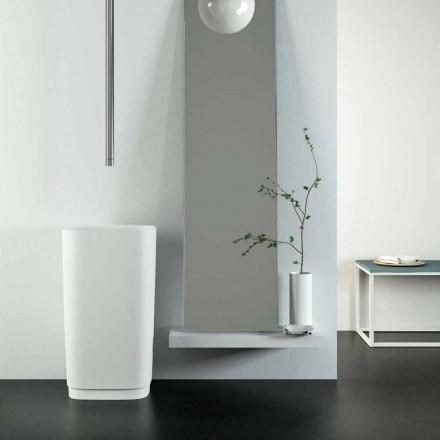 Design volně stojící kruhové umyvadlo vyrobené v Itálii, Lallio