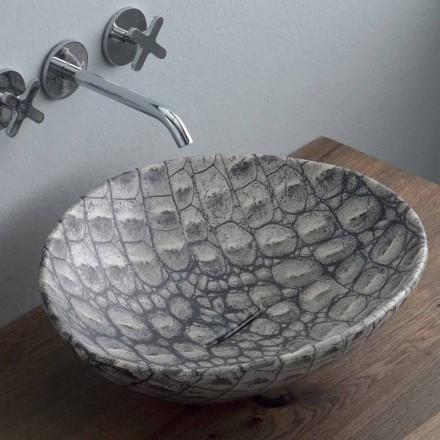Návrh keramické umývadlo na desku vyrobené v Itálii Zvířata