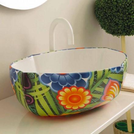 Designové keramické umývadlo, vyrobené v Itálii Oscar