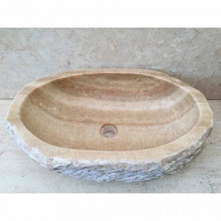 Umývadlo pro koupelnu Laia v přírodním kameni