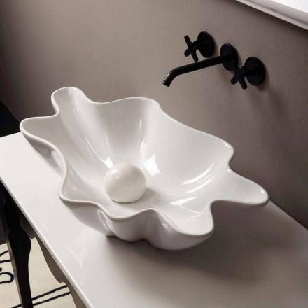 Moderní design keramické čalouněné umyvadlo vyrobené v Itálii Rayan