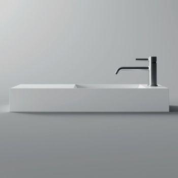 Bílé nebo barevné keramické umyvadlo vyrobené v Itálii s moderním designem - zákon