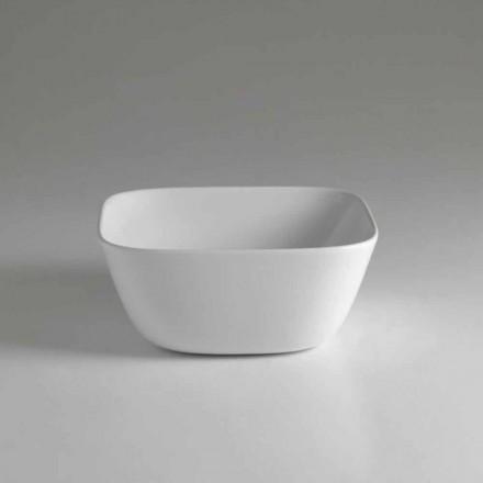 Vyrobeno v Itálii Design Square Countertop Keramické umyvadlo - Sonne
