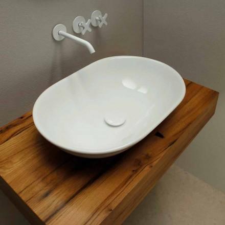 Moderní designová keramická umyvadlová deska vyrobená v Itálii