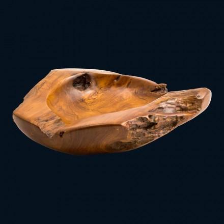 Umyvadlo teakového dřeva pultu ručního Nemo