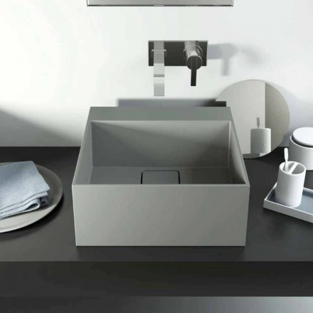 Moderní design umyvadlo na pracovní desce vyrobeno 100% v Itálii, Lavis