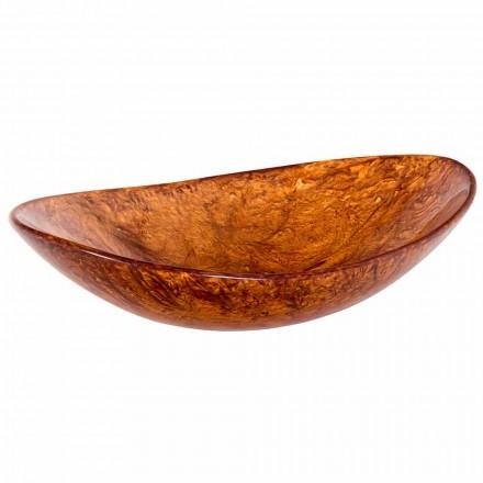 Ručně vyráběný dřez na desku vyrobený z pryskyřice - Marentino