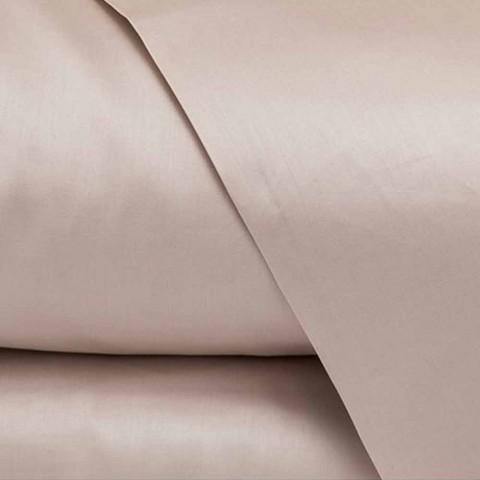 Bavlněné saténové listy pro dvoulůžko jednobarevné - frézie