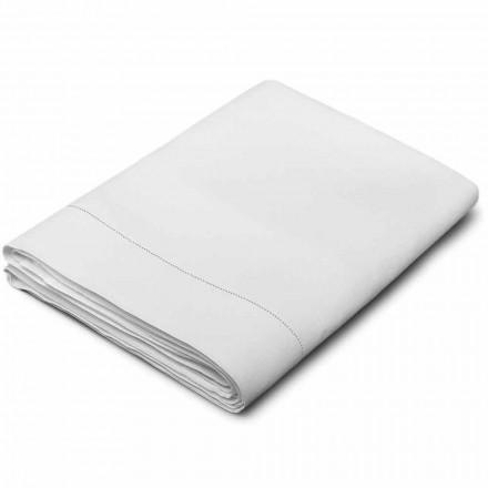 Čistý plátěný list v bílém krému vyrobený v Itálii - Chiana