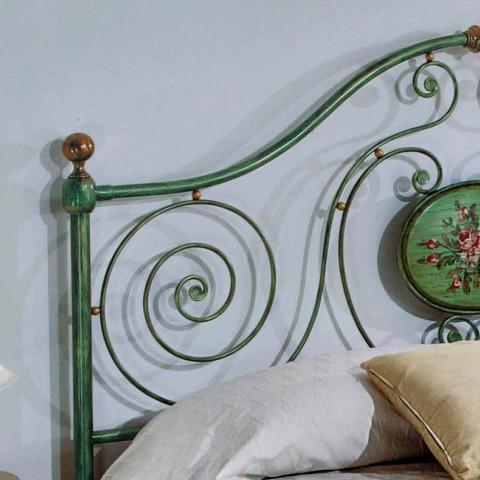 Klasické dvojlůžko s kovaného železa dekorace Rachael