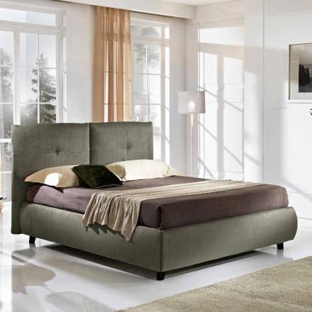 Manželská postel s úložným box vrcholit 160x190 / 200 cm Nina