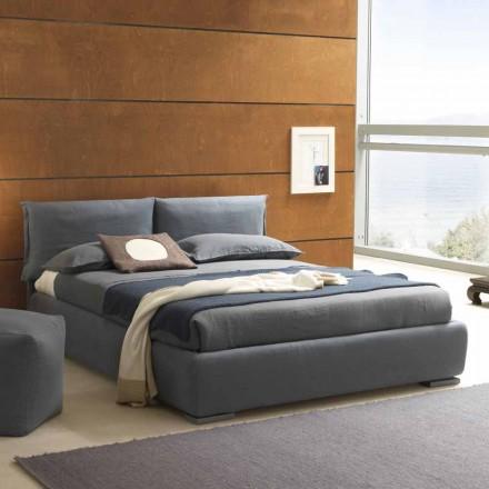 Manželská postel s kontejnerem, moderní design Iorca Bolzan