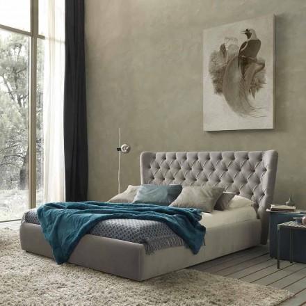 Manželská postel s lůžkovým kontejnerem, moderní design Selene Bolzan