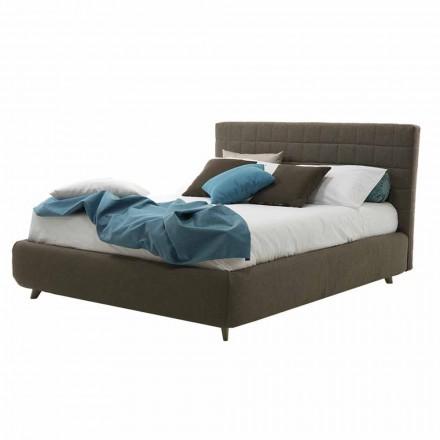 Moderní design manželská postel čalouněná s krabicí Made in Italy - Baby Walker
