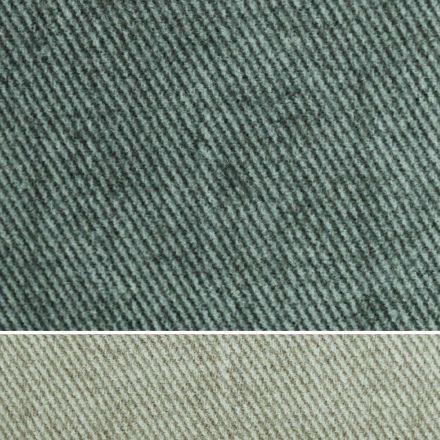 Manželská postel čalouněná látkou nebo umělou kůží Made in Italy - Elettro