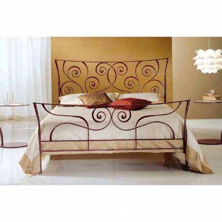 Manželská postel kované železné Ares