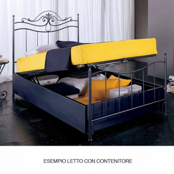 Manželská postel kované železné Auriga