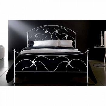 Manželská postel kované železné Swan