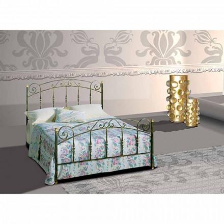 Manželská postel kované železné Diamond