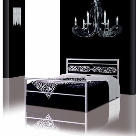 Manželská postel kované železné Dionýsos