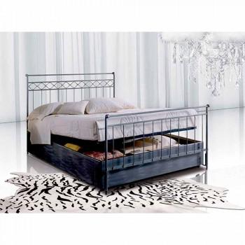 Manželská postel kované železné Hephaestus
