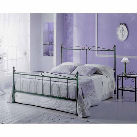 Manželská postel kované železné Faun